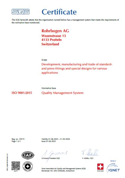 Downloads | Rohrbogen AG